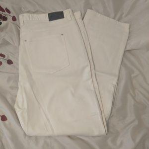 Michael Kors Cream Jeans 48x32